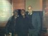 Post gig at The Setai Hotel NYC (Steve Williams, James Cammack, RC)
